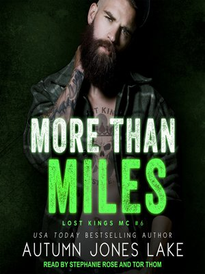 cover image of More Than Miles
