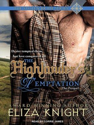cover image of The Highlander's Temptation