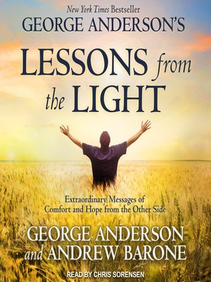 cover image of George Anderson's Lessons from the Light
