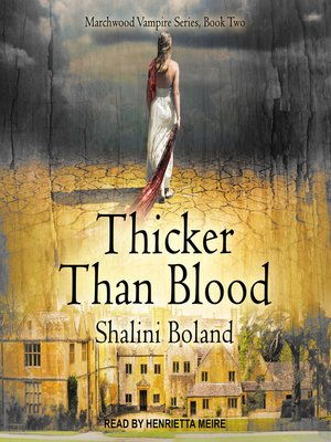 cover image of Thicker Than Blood