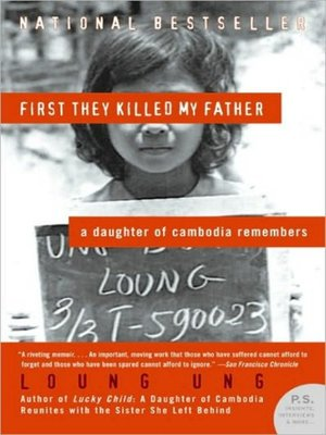 cover image of First They Killed My Father