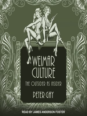 cover image of Weimar Culture