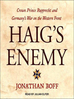 cover image of Haig's Enemy