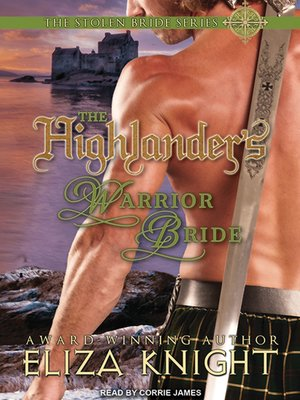 cover image of The Highlander's Warrior Bride