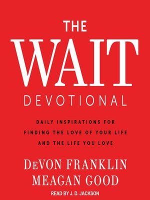 cover image of The Wait Devotional