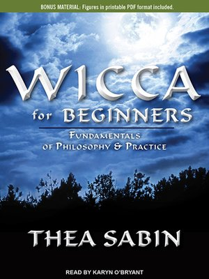 cover image of Wicca for Beginners