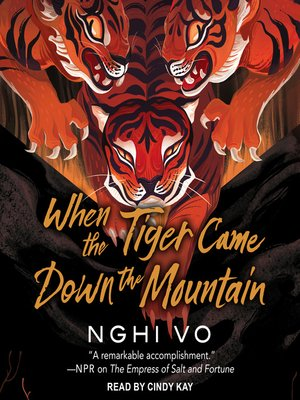 cover image of When the Tiger Came Down the Mountain