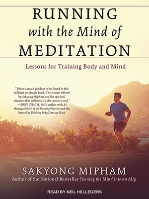 cover image of Running with the Mind of Meditation