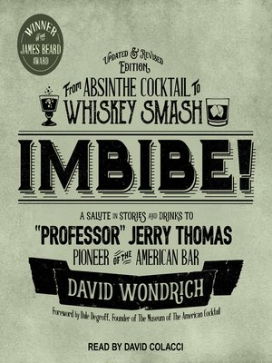 cover image of Imbibe! Updated and Revised Edition