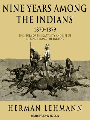 cover image of Nine Years Among the Indians, 1870-1879