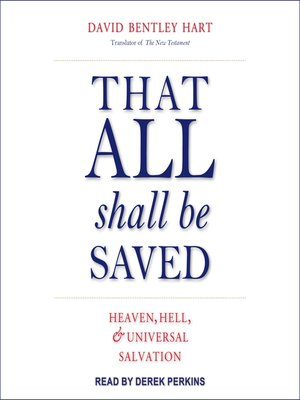 cover image of That All Shall Be Saved