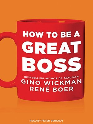 cover image of How to Be a Great Boss