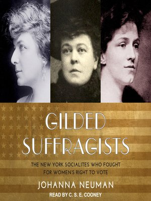 cover image of Gilded Suffragists