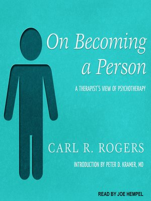 cover image of On Becoming a Person