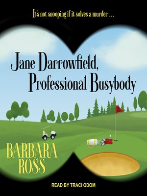 cover image of Jane Darrowfield, Professional Busybody