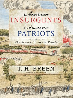 cover image of American Insurgents, American Patriots