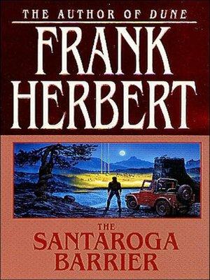 cover image of The Santaroga Barrier