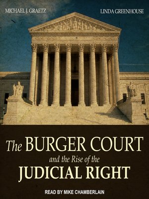 cover image of The Burger Court and the Rise of the Judicial Right