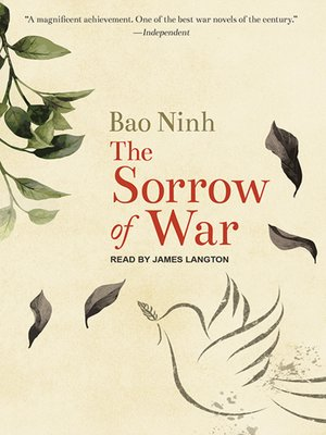 cover image of The Sorrow of War