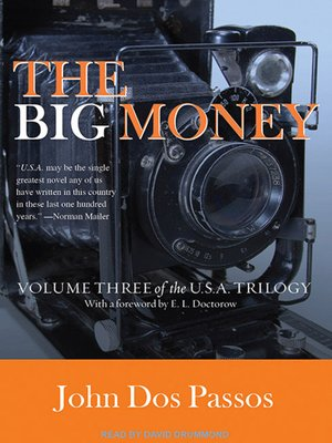 cover image of The Big Money