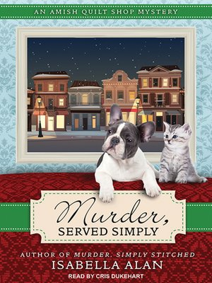 cover image of Murder, Served Simply
