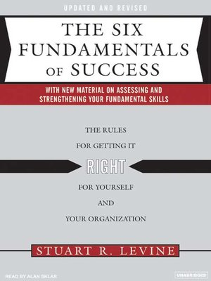 cover image of The Six Fundamentals of Success
