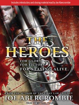 joe abercrombie the heroes epub