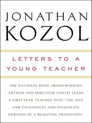 cover image of Letters to a Young Teacher