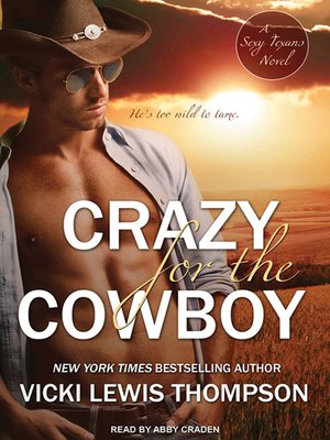 cover image of Crazy for the Cowboy