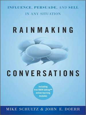 cover image of Rainmaking Conversations