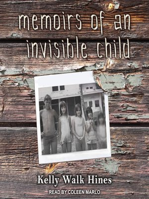 cover image of Memoirs of an Invisible Child