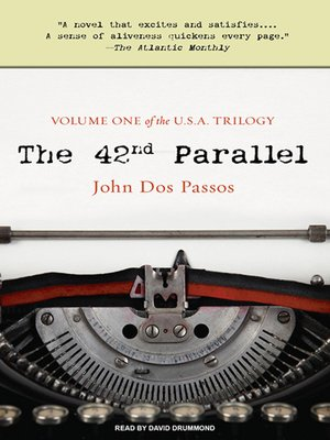 cover image of The 42nd Parallel