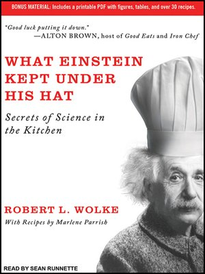 cover image of What Einstein Kept Under His Hat