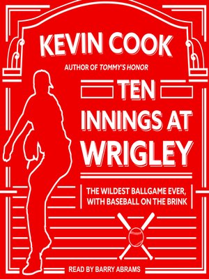 cover image of Ten Innings at Wrigley