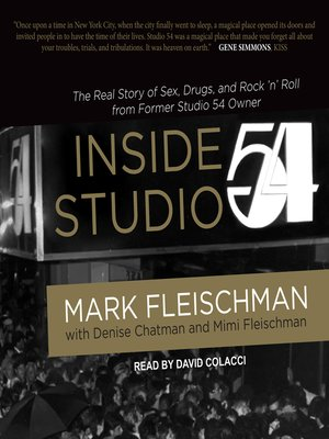cover image of Inside Studio 54