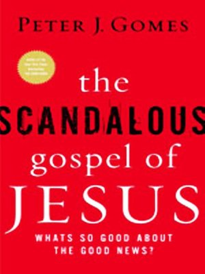 cover image of The Scandalous Gospel of Jesus