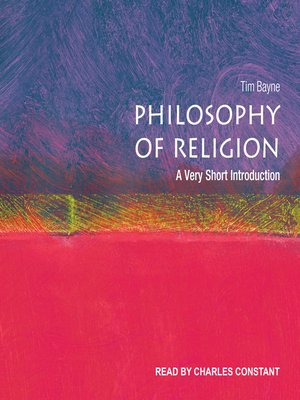 cover image of Philosophy of Religion