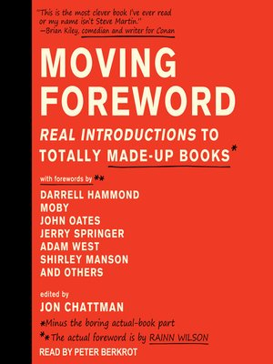 cover image of Moving Foreword