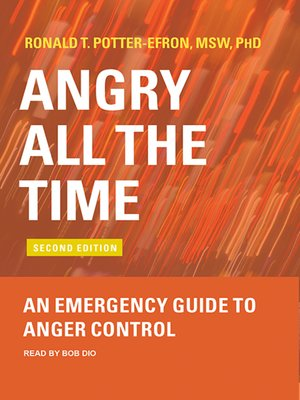 cover image of Angry All the Time