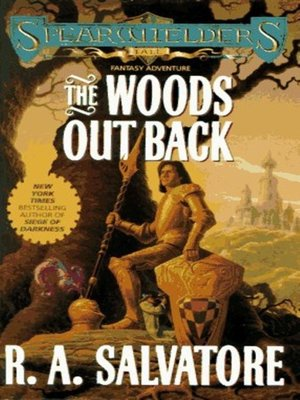 cover image of The Woods Out Back