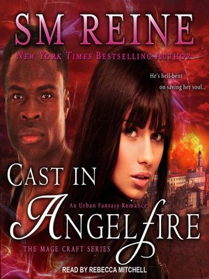 cover image of Cast in Angelfire--An Urban Fantasy Romance