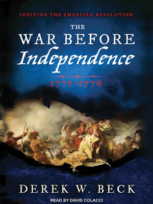cover image of The War Before Independence