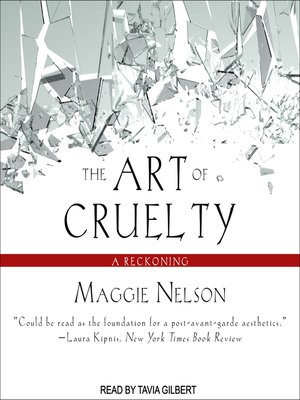 cover image of The Art of Cruelty