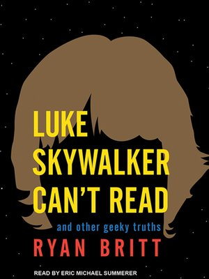 cover image of Luke Skywalker Can't Read