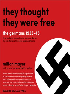 cover image of They Thought They Were Free