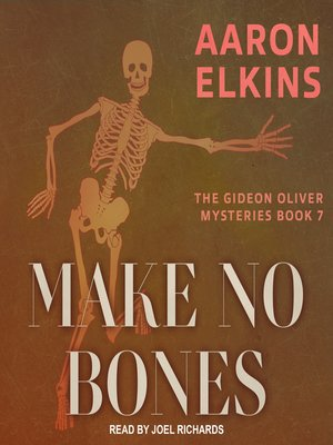 cover image of Make No Bones
