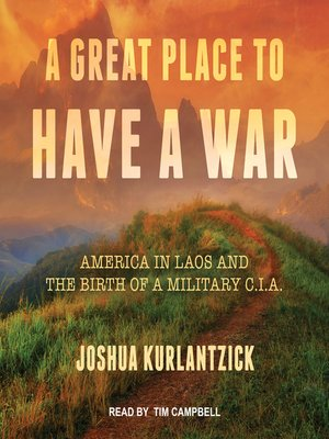 cover image of A Great Place to Have a War