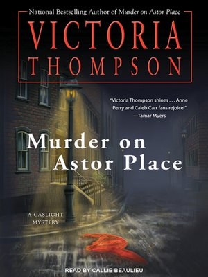 cover image of Murder on Astor Place