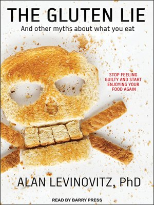 cover image of The Gluten Lie