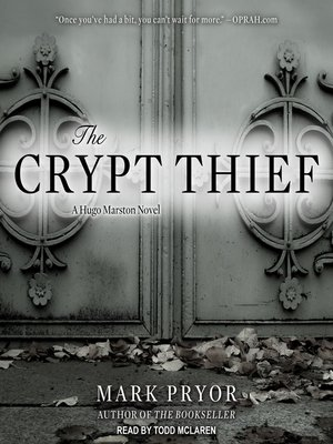 cover image of The Crypt Thief--A Hugo Marston Novel